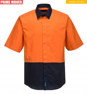 MF152 Food Industry Lightweight Cotton Shirt