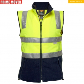 MF514 Polar Fleece Vest with Tape