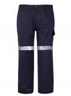 Mens Cotton drill trousers with Tape