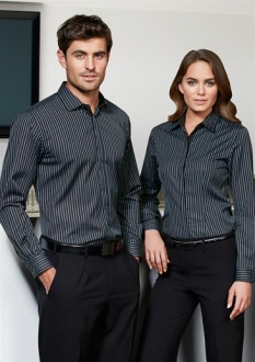S415 Mens Reno Stripe L/S Shirt