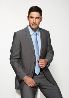 Como Mens Slimline 2 Button Jacket