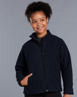 PF07K Kids Frost Micro Bonded Polar Fleece Jacket