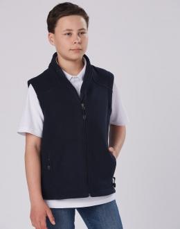 PF09K Kids Frost Micro Bonded Polar Fleece Vest