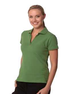 PS40 Longbeach Cotton Polo SS Ladies
