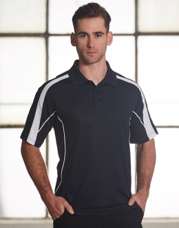 PS53 Mens Truedry Short Sleeve Polo
