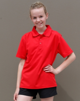 PS81K Kids Cooldry Polyester Pique Polo