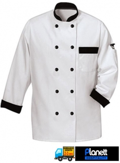 Contrast Chef Jacket