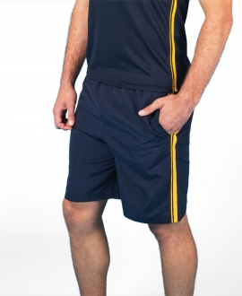 Podium Dual Stripe Warm Up Short
