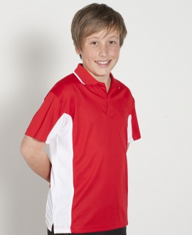 7PP3 Podium Kids Contrast Polo