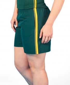 Podium Ladies Dual Stripe Warm Up Shorts