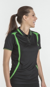 7SWP1 Podium Ladies Swirl Polo