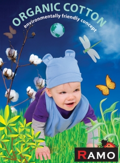 Ramo Babies Organic Cotton Rabbit Cap