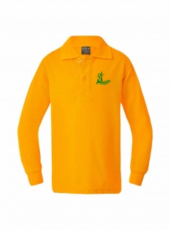 SAP Kids Yellow Polo LS