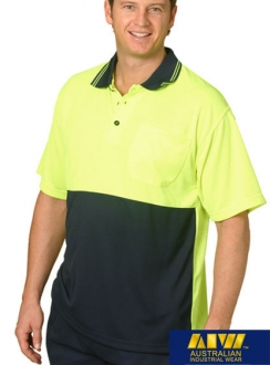 AIW HiVis CoolDry Polo