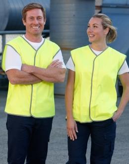 SW02 Unisex HiVis Safety Vest