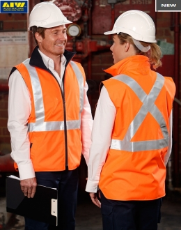 SW37L HiVis Safety Vest Unisex Larger