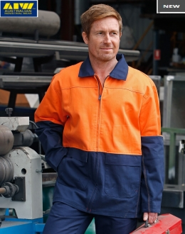 SW45L HiVis Cotton Jacket