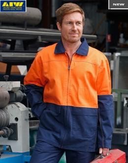 SW45L HiVis Cotton Jacket