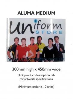 Sign Alumaboard Medium