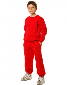 TP01K Kids Traditional Fleecy Trackpants