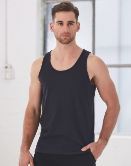 TS18 Mens Cotton Singlet
