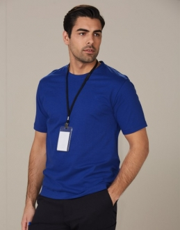 TS37 Mens 100% Cotton Semi Fitted Tee Shirt