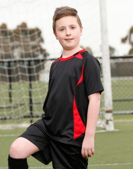 TS85K Kids Shoot Soccer Jersey