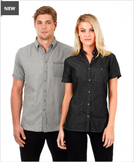 W49 Mens Dylan Shirt Short Sleeve