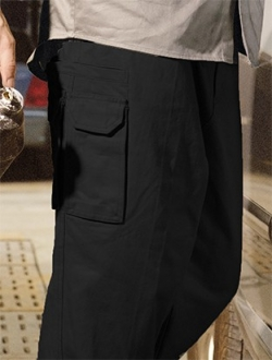 WK1235ST Cotton Drill Cargo Pants Stout