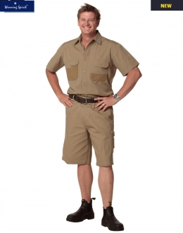 WP11 Cordura Durable Cargo Shorts Mens