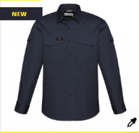 ZW400 Mens Rugged Cooling Shirt LS